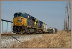 CSX 843 ES44AH,34 of Q275